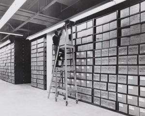 Washington National Records Center Stack Area