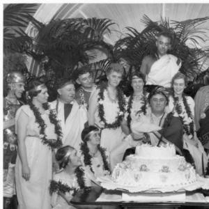 FOIAonline didn't celebrate its birthday with a toga party as President Franklin D. Roosevelt did in 1934, but FOIAonline partners from 11 Federal agencies did enjoy cupcakes. (NARA Identifier 6728531)
